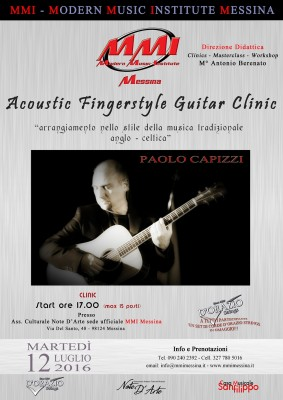 PAOLO CAPIZZI - ACOUSTIC FINGERSTYLE GUITAR CLINIC